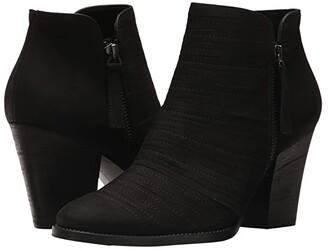 Paul Green Malibu (Black Sport Nubuck) Women's Boots