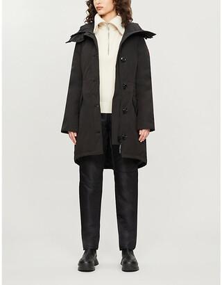 Canada Goose Rossclair shell parka coat