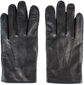 Gibson Black Leather Gloves