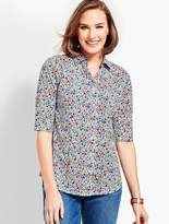 Talbots The Perfect Shirt - Prairie Floral
