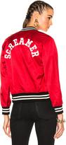 R 13 Unlined Raglan Screamer Jacket