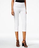 Thalia Sodi Cropped Snap-Cuff Pants, Only at Macy's