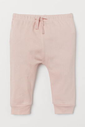H&M Cotton jersey trousers