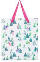 Oliver Bonas Large Winter Chalet Gift Bag