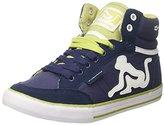 Drunknmunky Men's Boston Classic Tennis Shoes blue Size: 8