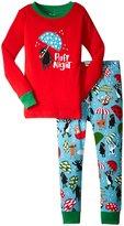 Hatley Ruff Night Pajama Set (Toddler/Kid) - Red - 2
