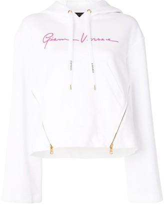 Versace Zip Detail Hoodie