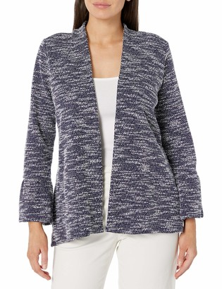 Chaus Women's Bell SLV Textured Snit Cardigan
