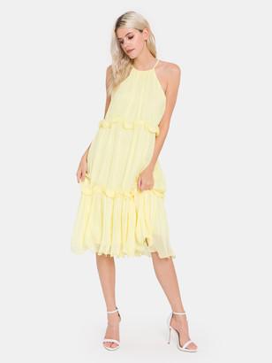 Endless Rose Sleeveless Ruffle Dress