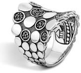 John Hardy Women's 'Dot' Silver Saddle Ring