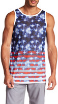 Burnside Sleeveless Print Tank