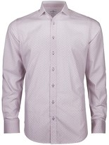 Jeff Banks White Label Morais Print Slim Fit