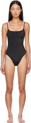Nu Swim Black Noodle One-Piece Swimsuit