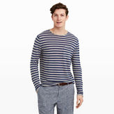 Club Monaco Linen Stripe Rollneck