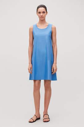 Cos SHORT JERSEY A-LINE DRESS