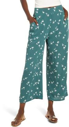Billabong Cut Through Floral Wide Leg Pants