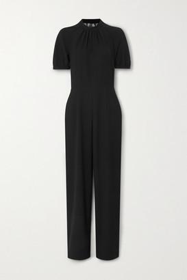 Paul & Joe Havilland Lace-paneled Crepe Jumpsuit - Black