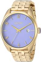 Nixon Women's 'Bullet' Quartz Stainless Steel Casual Watch, Color:Gold-Toned (Model: A4182624-00)