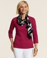 Chico's Exploded Global Wash Scarf