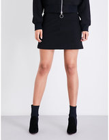 KENDALL + KYLIE KENDALL & KYLIE Ribbed high-rise knitted skirt