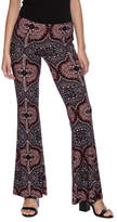 Veronica M Print Flare Pant