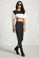 Forever 21 FOREVER 21+ Colorblock Stripe Sweatpants