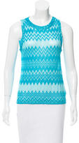 Missoni Chevron Patterned Sleeveless Top