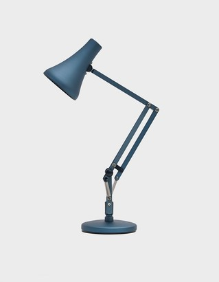 Anglepoise 90 Mini Mini Desk Lamp in Steel Blue and Grey