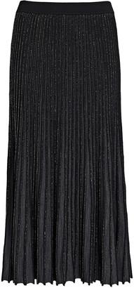 Intermix Kelly Pleated Midi Skirt