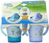 Born Free BPA-Free Grow with Me 6 oz. Training Cup, 2 Count by