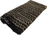 One Kings Lane Vintage Mali Black & White Mud Cloth Textile
