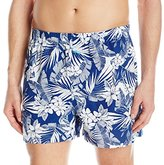 Tommy Bahama Men's Floral Leaves Woven Boxer