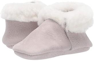 Freshly Picked Salt Flats Shearling Moccasin (Infant/Toddler) (Gray) Kid's Shoes