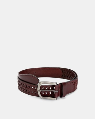 Ted Baker Leather Woven Belt