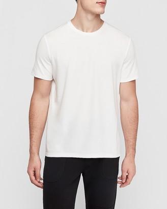 Express Seamed Crew Neck Stretch T-Shirt