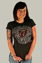 Vintage Rolling Stone's Tour Tee in Black