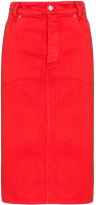 Kwaidan Editions Denim Pencil Skirt