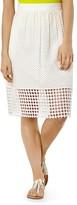 Karen Millen Broderie Skirt