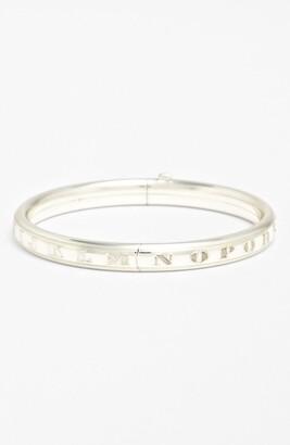 Mignonette Sterling Silver Alphabet Bracelet