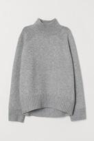 H&M Knitted turtleneck jumper