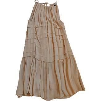 Twin-Set Twin Set Beige Viscose Dresses