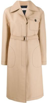 Marni single-breasted duster coat