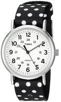 Timex Weekender Reversible Nylon Slip-Thru Strap