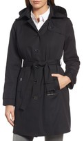 MICHAEL Michael Kors Women's Core Trench Coat With Removable Hood & Liner