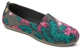 Mad Love Women's Lydia Floral Print Slip On Shoes