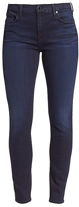 JEN7 by 7 For All Mankind Mid-Rise Stretch Skinny Jeans