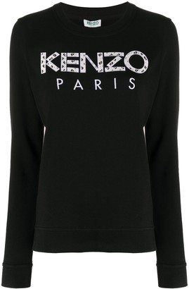 Kenzo Logo-Applique Sweatshirt