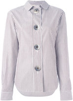 Ports 1961 oversized button striped shirt - women - Cotton - 38