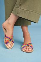Matiko April Woven Slide Sandals