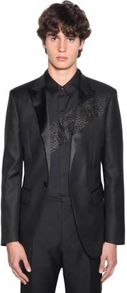 DSQUARED2 Glittered Berlin Silk & Wool Blazer